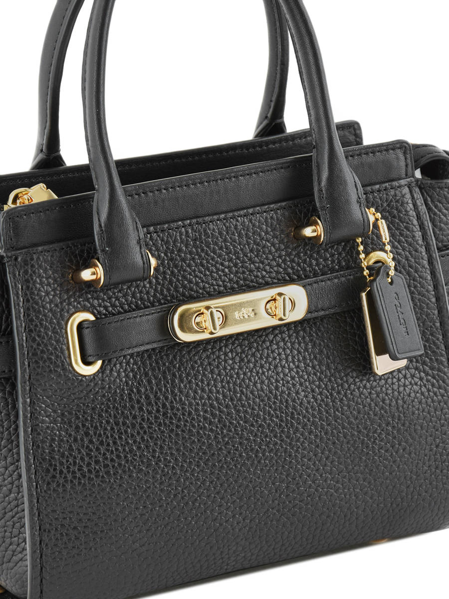 ... Crossbody Bag Swagger 27 Leather Coach Black swagger 87299 other view 1 ...