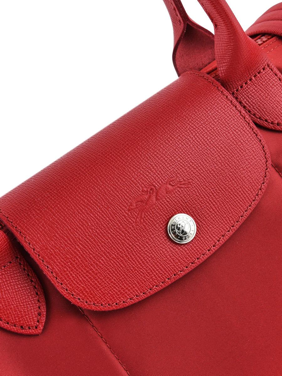 ... Longchamp Le pliage neo Hobo bag Red ...