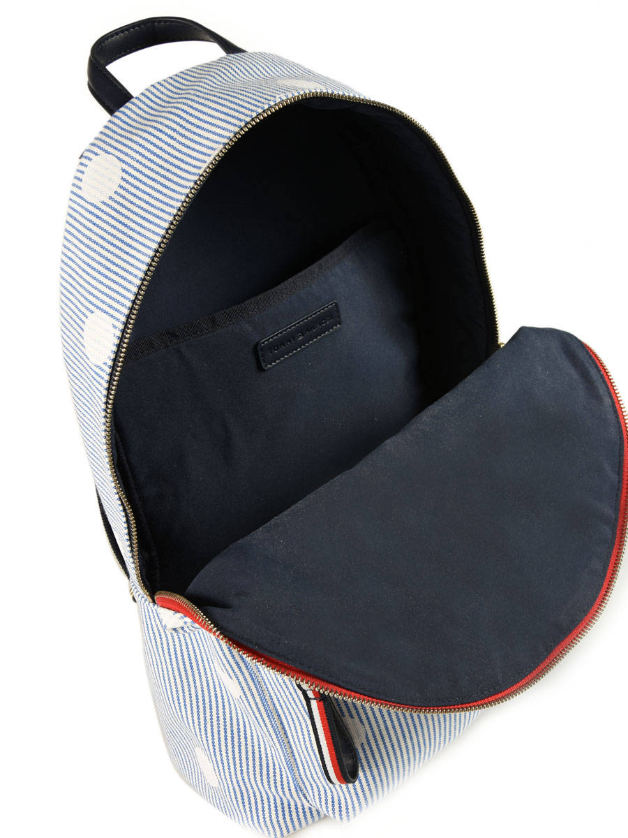 sac dos tommy hilfiger poppy corporate color en vente au meilleur prix. Black Bedroom Furniture Sets. Home Design Ideas