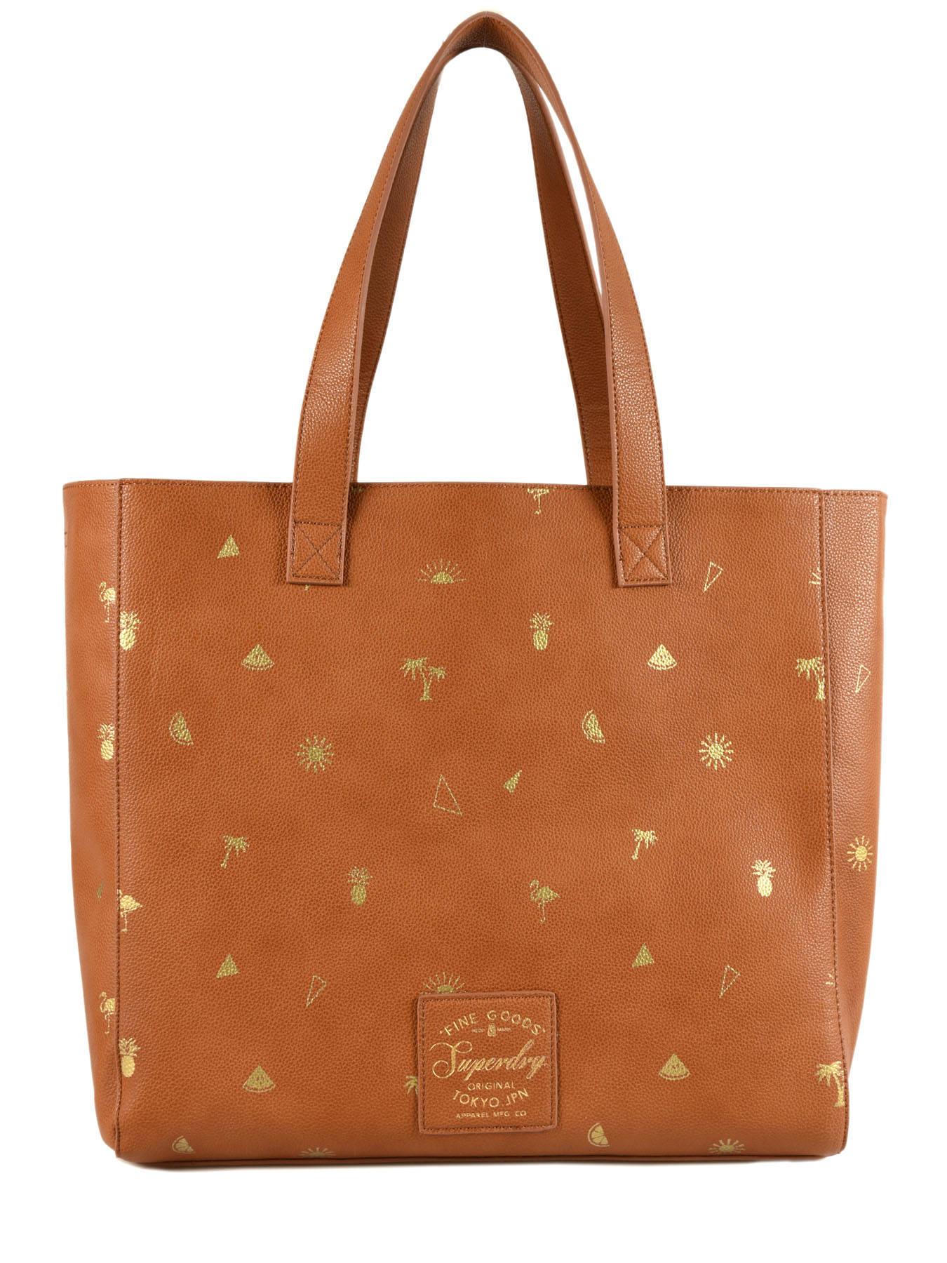 Sac Women women A4 bags Marron Bags Porté épaule Superdry G91003YQ fRRxFPU