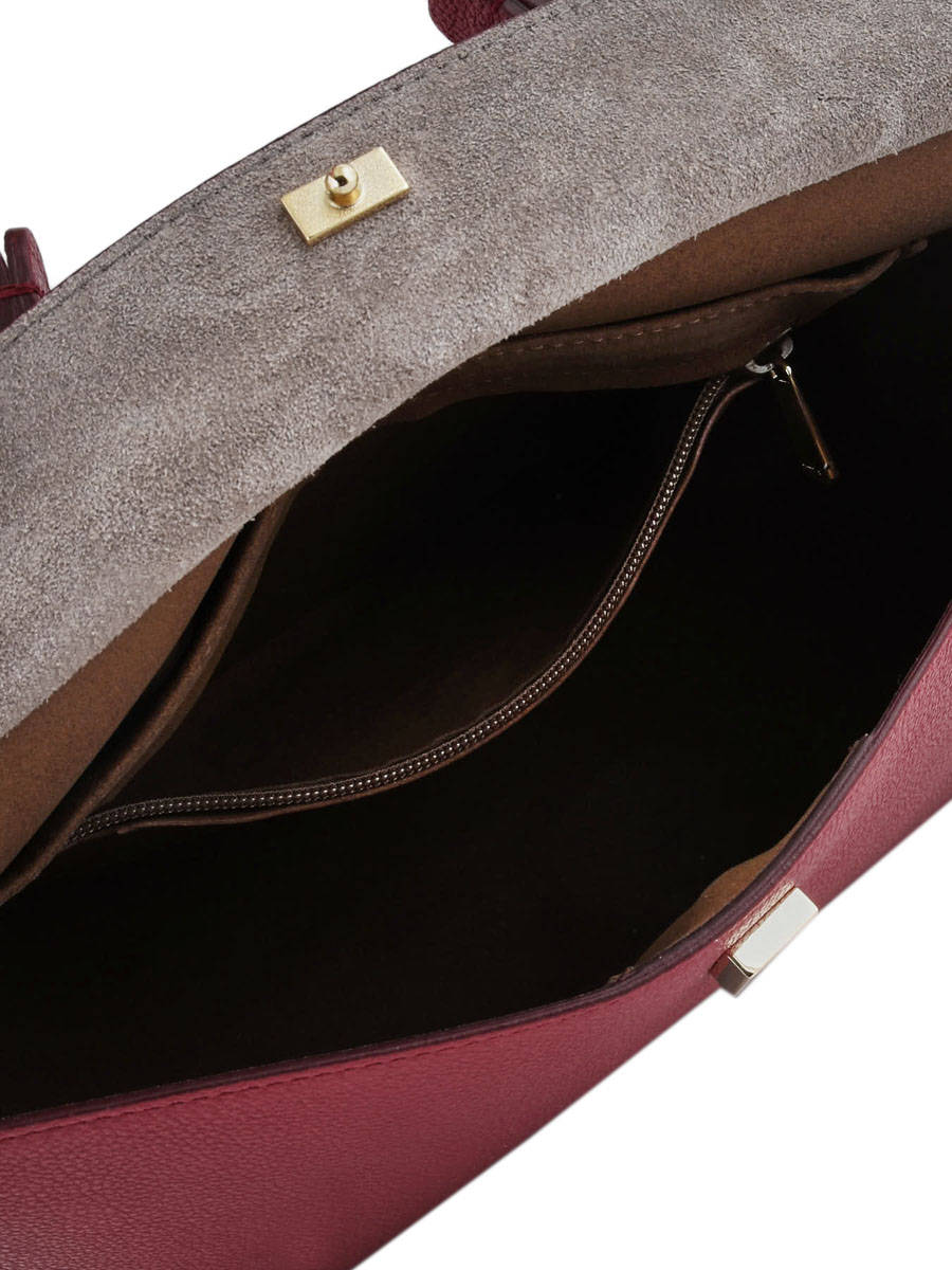 d601de1bd7 Top Handle My Piper Leather Furla Red my papper MPP-BMX1 other view 4 ...