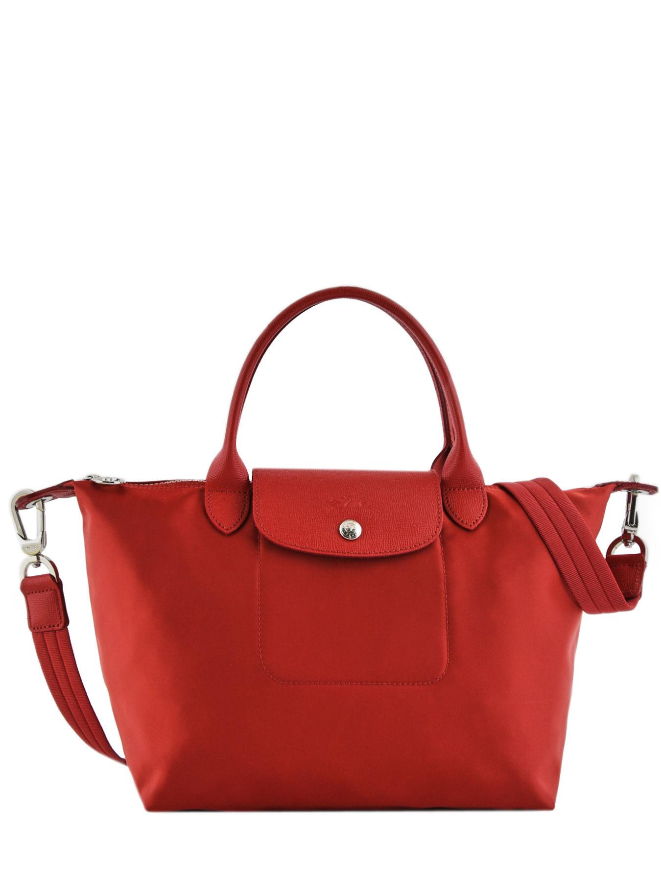 sacs port main longchamp le pliage neo rouge en vente au meilleur prix. Black Bedroom Furniture Sets. Home Design Ideas