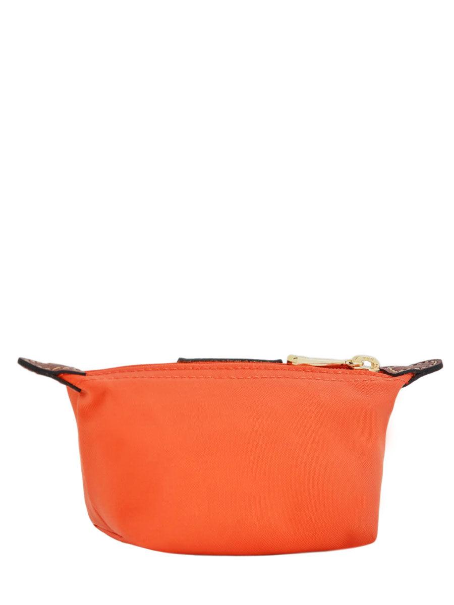 Porte monnaie longchamp le pliage orange en vente au meilleur prix - Porte monnaie femme longchamp ...
