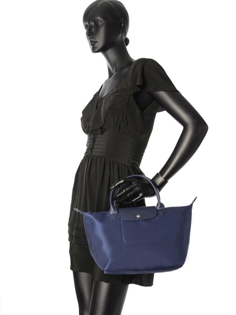 Longchamp en vente prix porté marine Sacs au 1512578 meilleur main SXUEwxFq