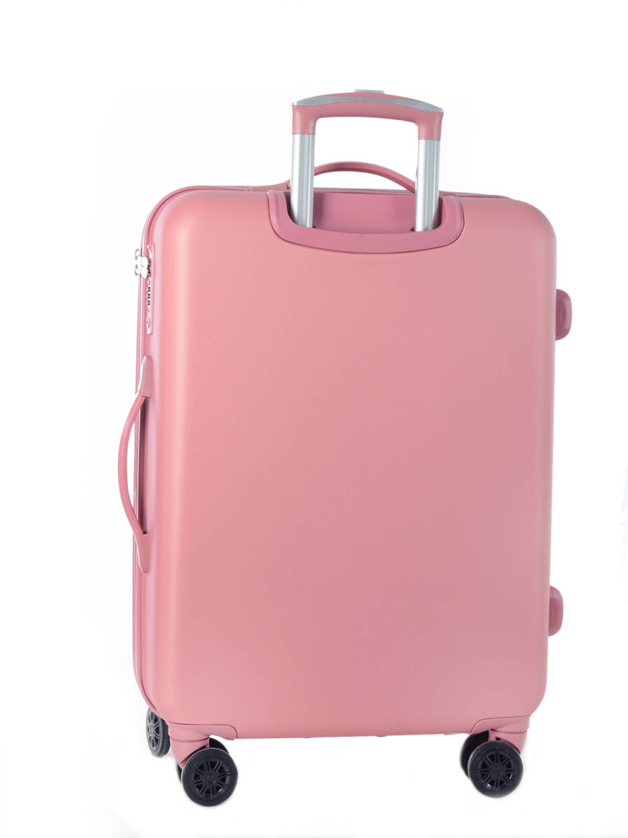 bagages pas chers travel diamond old pink en vente au meilleur prix. Black Bedroom Furniture Sets. Home Design Ideas