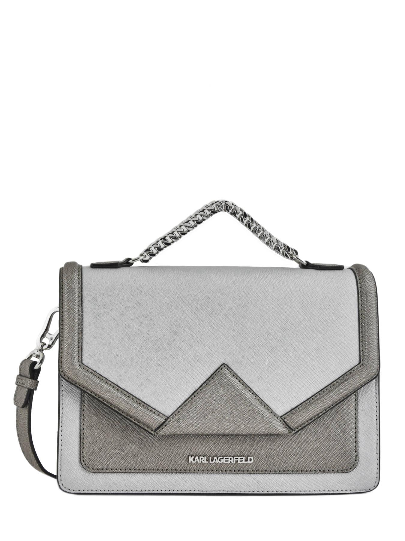 Shoulder Bag Klassik Leather Karl Lagerfeld Multicolor 81kw3023