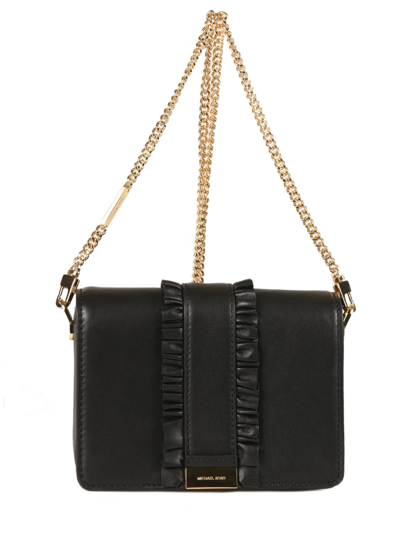 Crossbody Bag Jade Leather Michael Kors Black H7gj4c6l