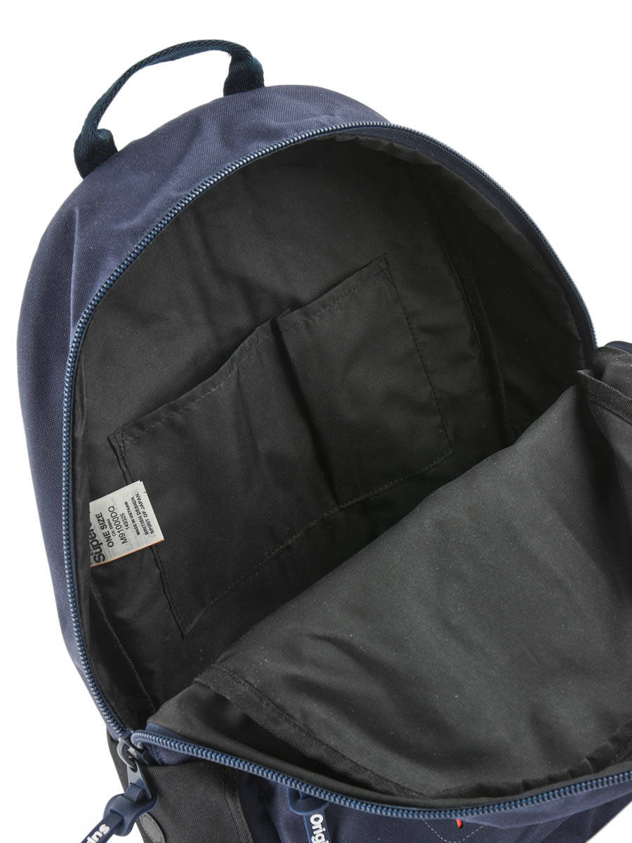 Backpack 1 Compartment Superdry Blue backpack men M91000DQ other view 4 ... 6c01f3385685f