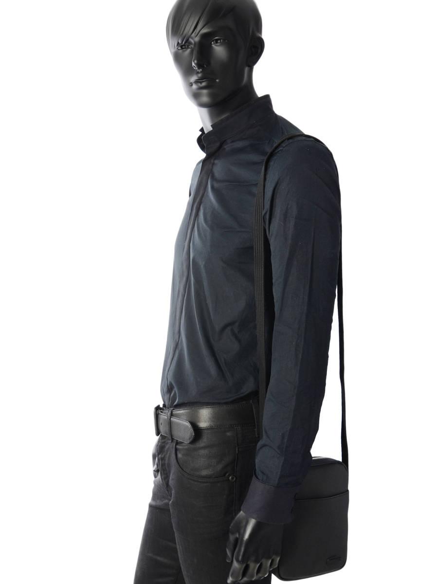 ... Crossbody Bag Lacoste Black men s classic NH2340HC other view 2 ... c9c1c006d709f
