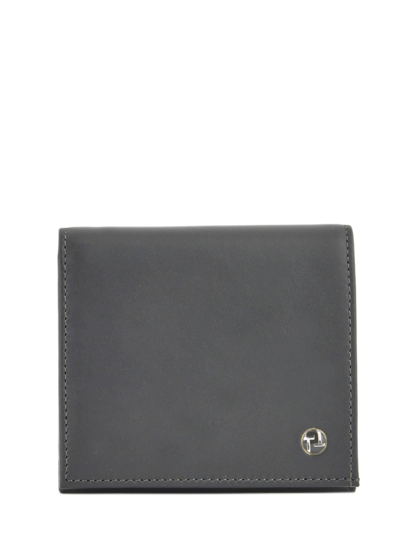 Porte-cartes porte-monnaie cuir TEXIER