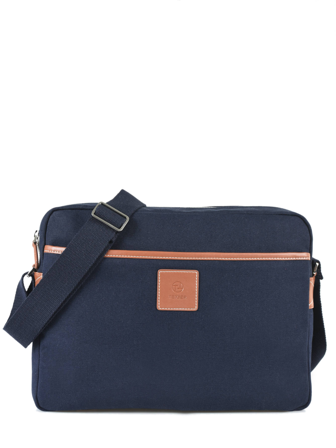 Messenger Bag Texier Blue Aristide 42104