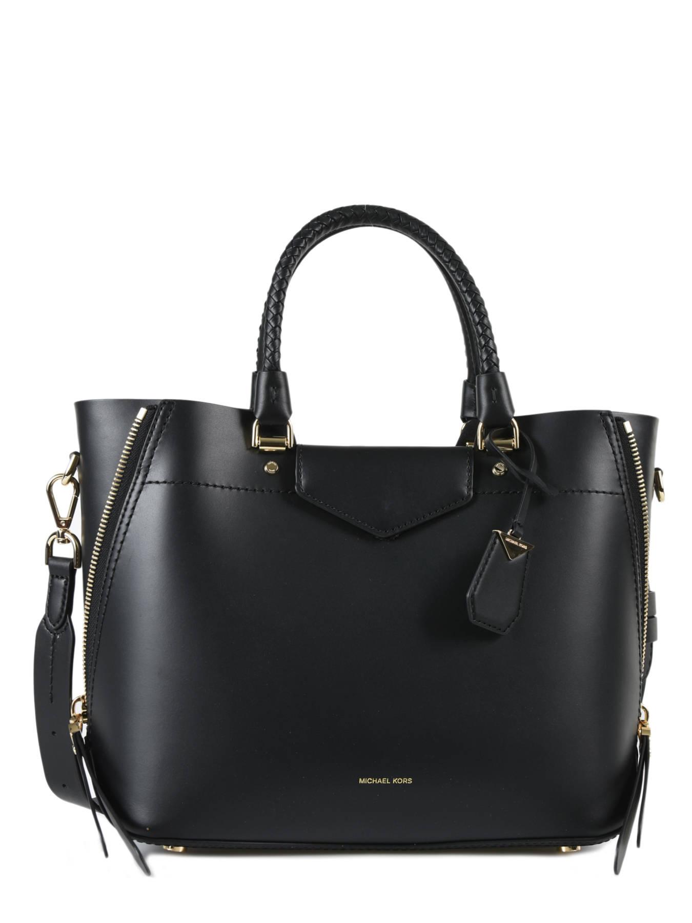 8d2abfdde712a ... Shopping Bag Blakely Leather Michael kors Black blakely S8GZLT2L ...
