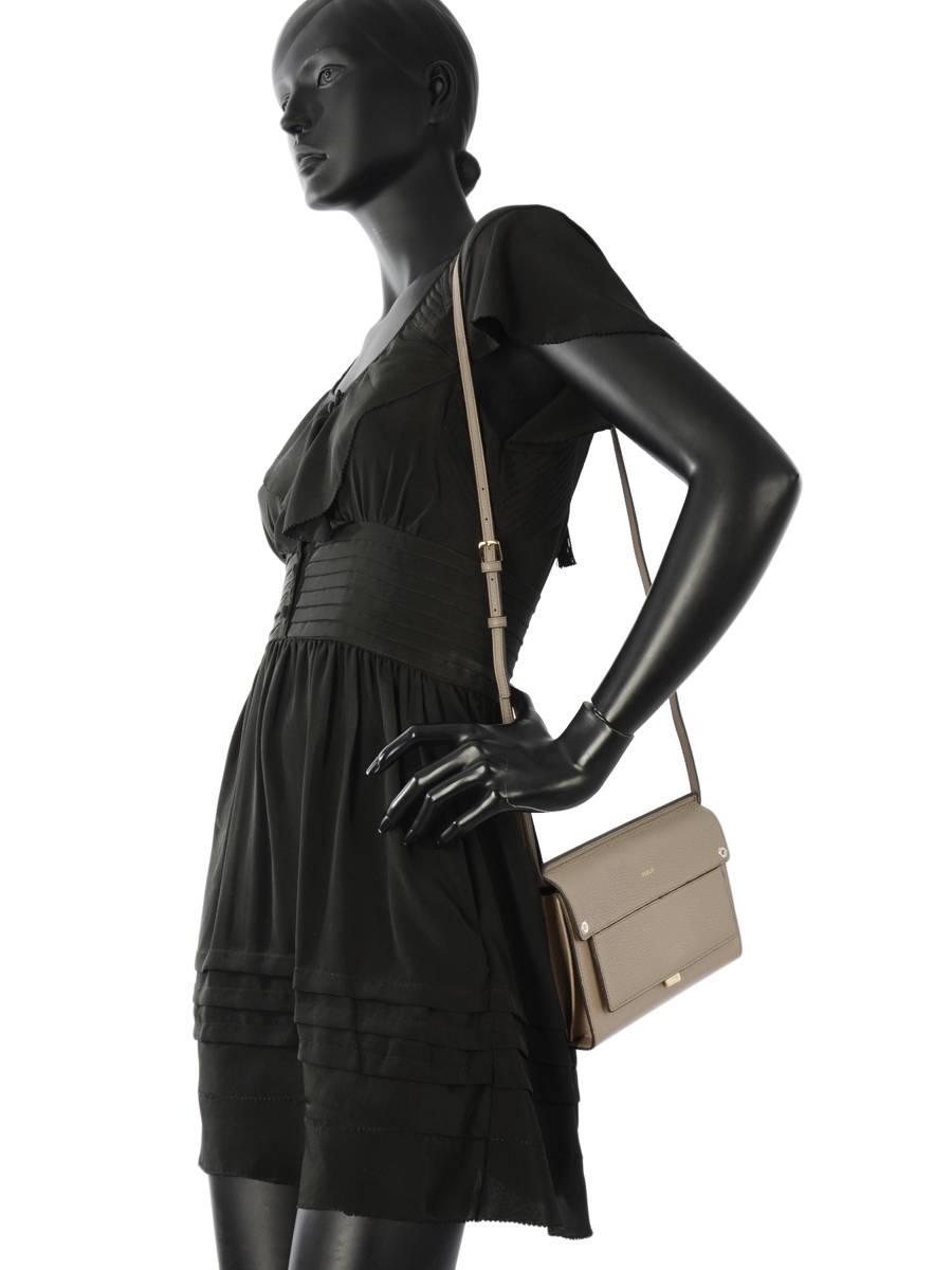 ... Crossbody Bag Like Leather Furla Gray like LIK-BNF0 other view 2 ... e41ee4fe4ba41