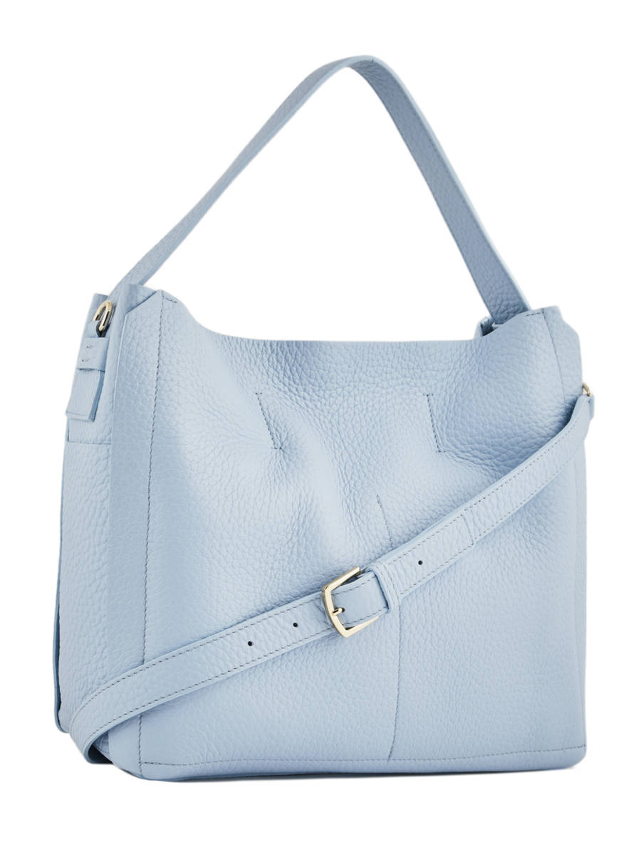 aa3970aed6 ... Hobo Bag Capriccio Leather Furla Blue capriccio LN2-BHE6 other view 3  ...