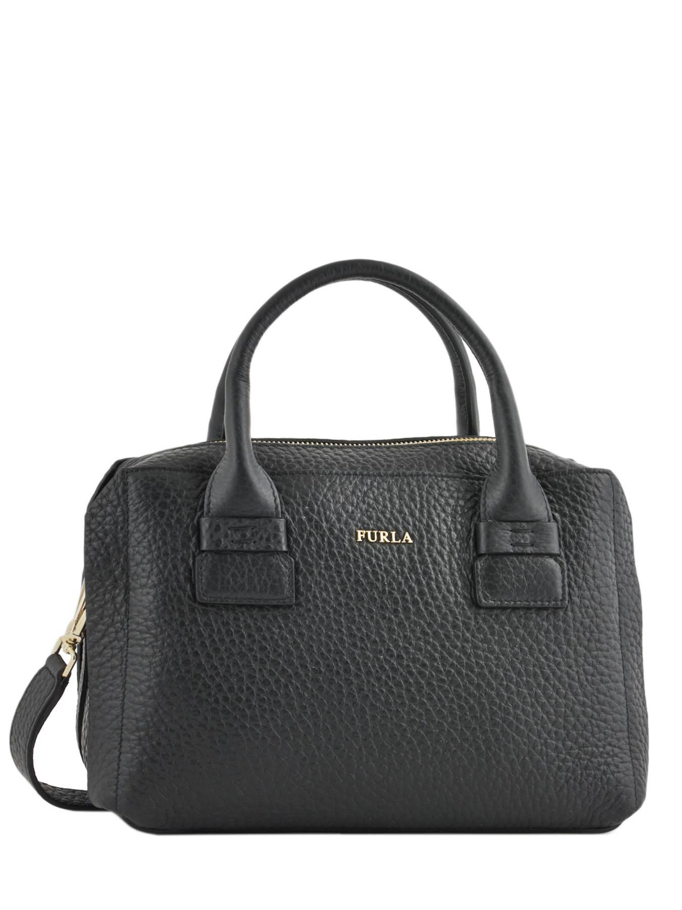 ... Handbag Capriccio Leather Furla Black capriccio LN2-BNZ8 ... 1906281d61a11