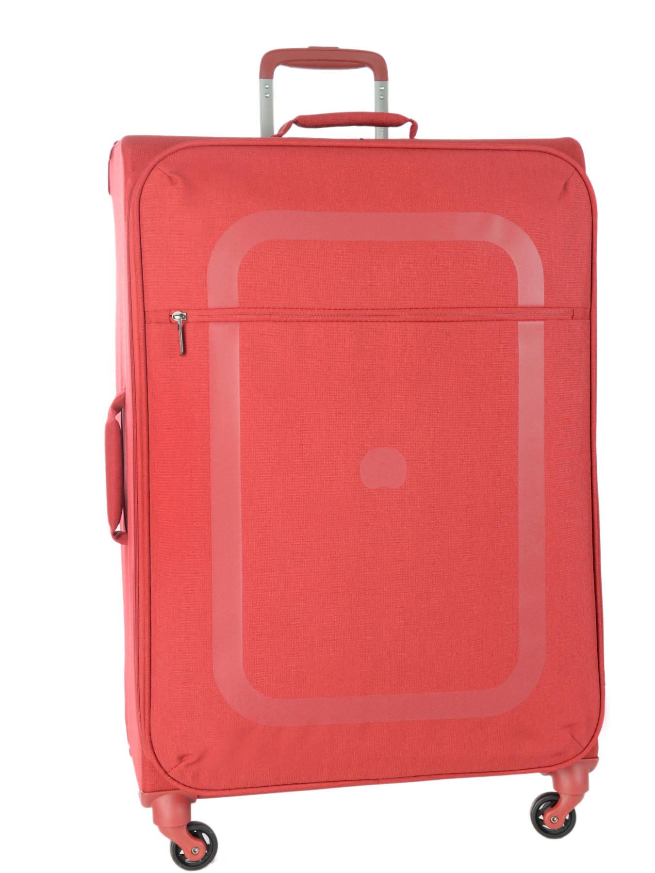 valise souple delsey rouge en vente au meilleur prix. Black Bedroom Furniture Sets. Home Design Ideas