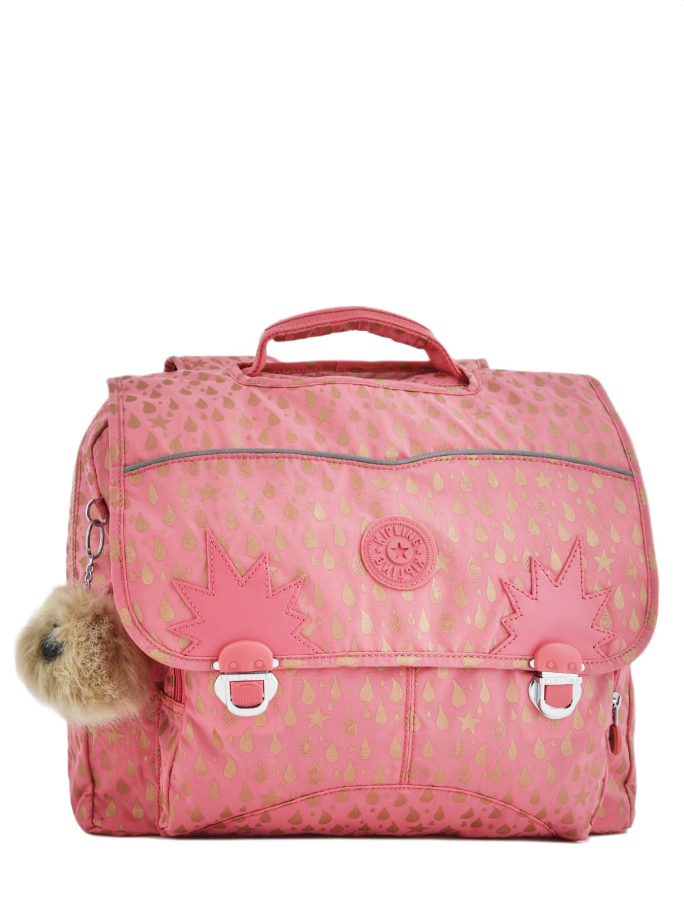 ccd1ad9f08 Satchel 2 Compartments Kipling Pink back to school 21092 ...