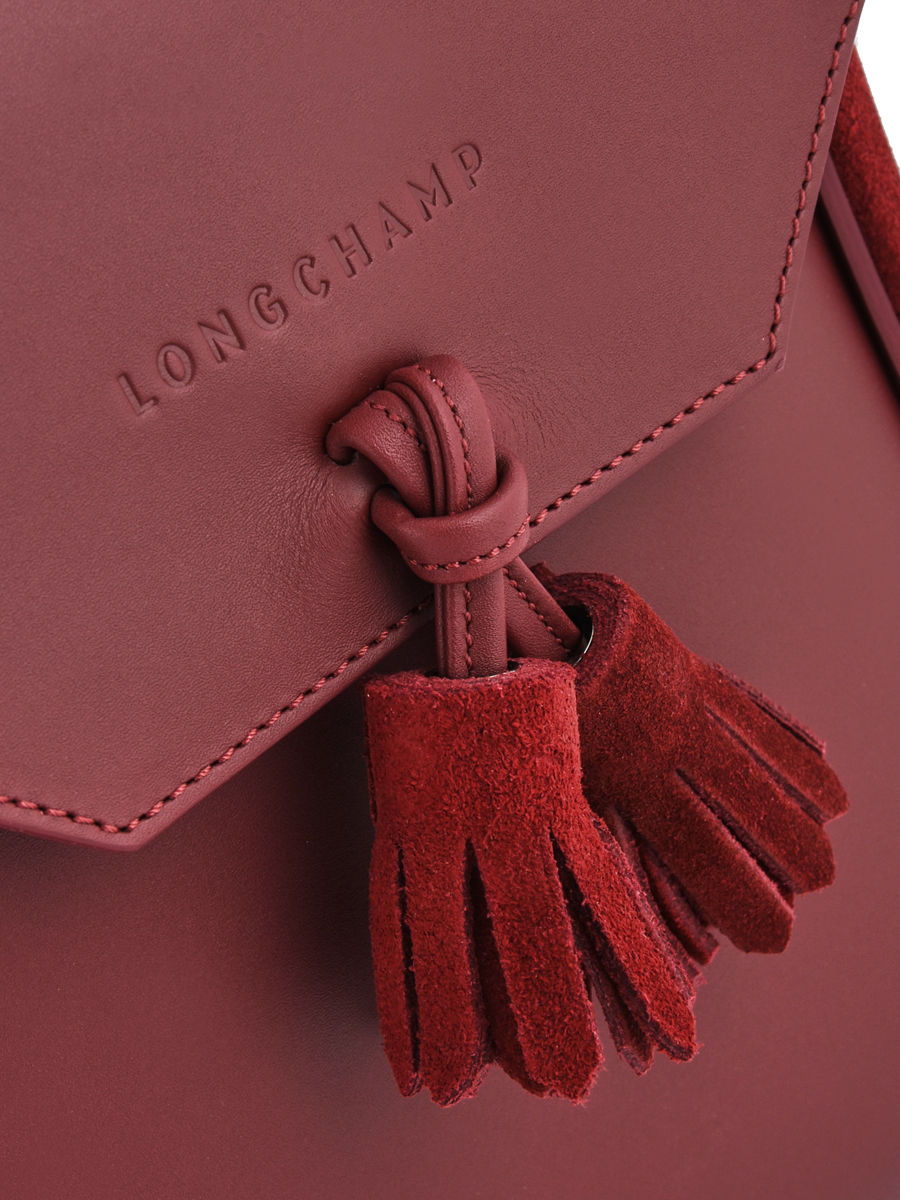 8d1e867b9976 ... Longchamp PÉnÉlope soft Backpack Red ...