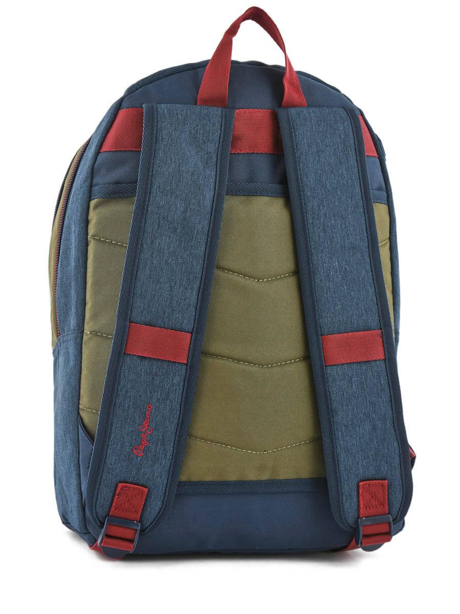 0d74b0870fd ... Sac à Dos 2 Compartiments Pepe jeans Multicolore trade 60424 vue  secondaire ...