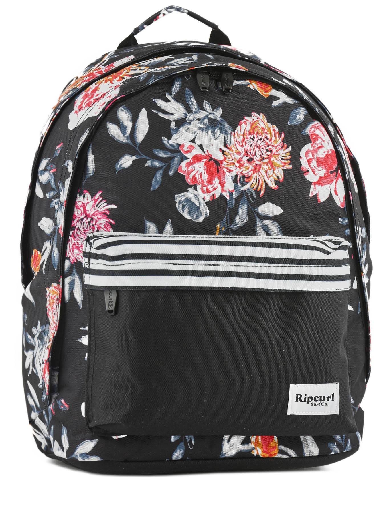 dbd0b6629b363 Backpack 2 Compartments Rip curl Black desert flower LBPHH1 ...