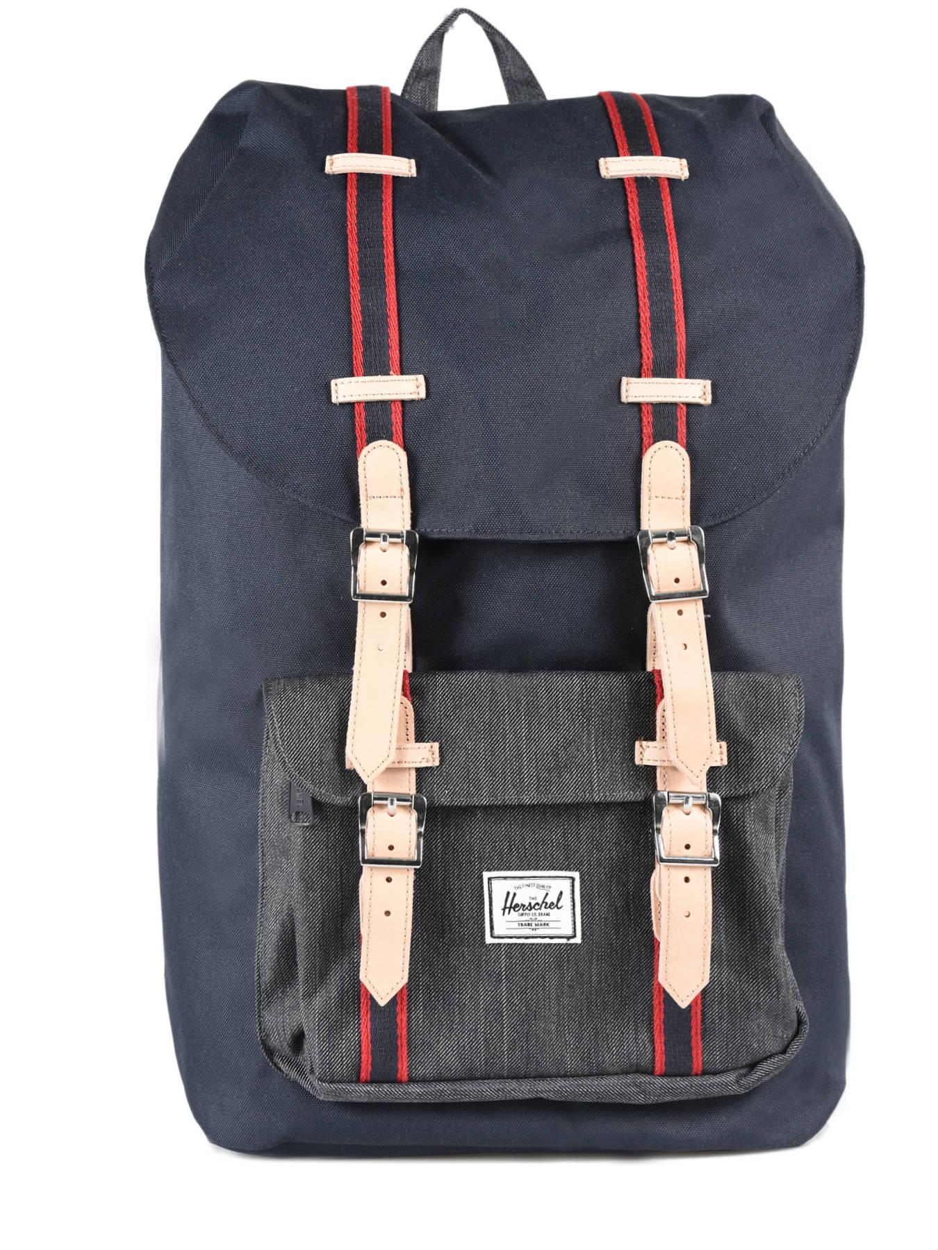 1e340d4644 ... Backpack 1 Compartment Herschel Black offset 10014-O ...