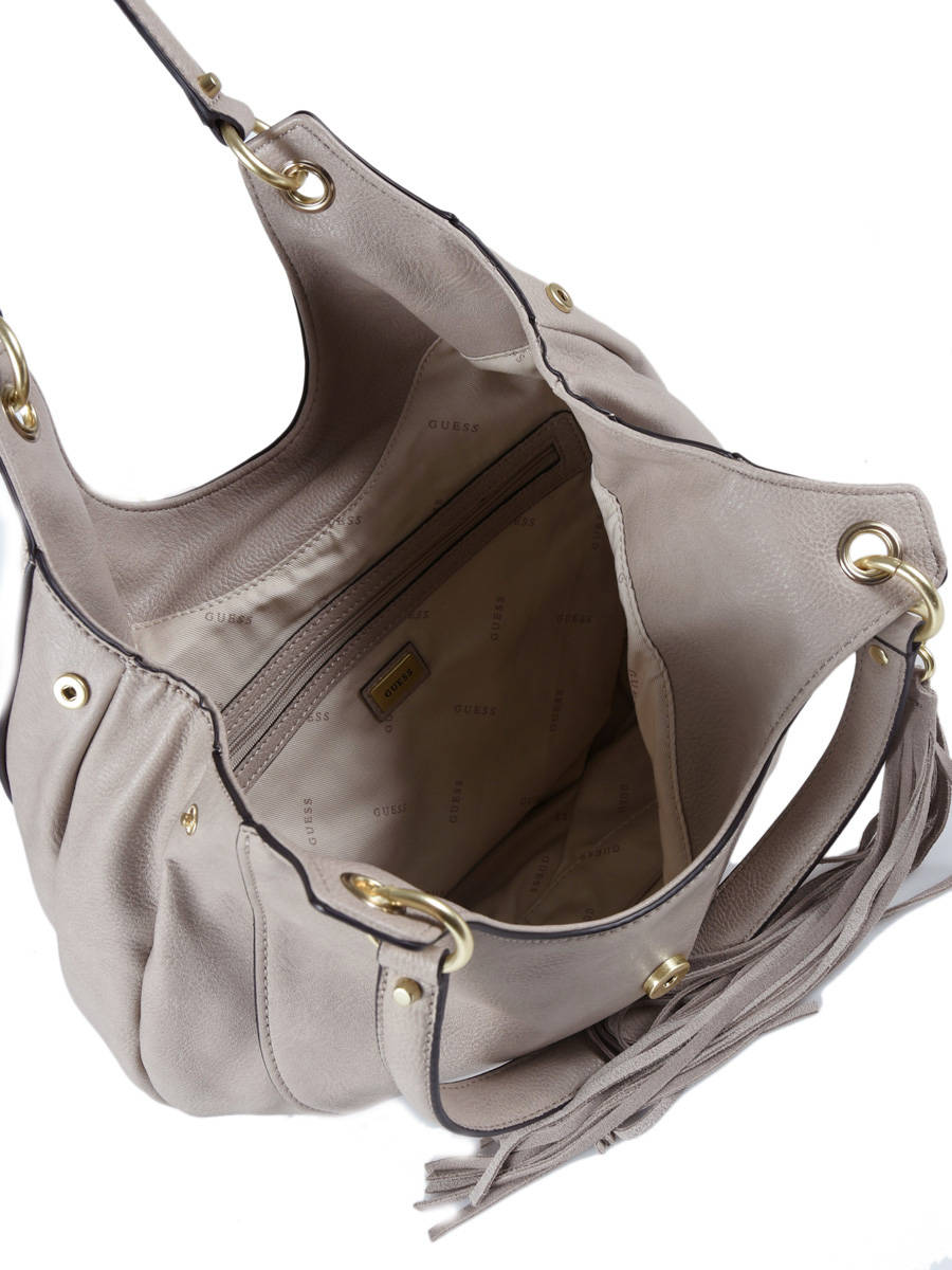 Hobo Bag Dixie Guess Beige dixie VB457109 other view 4 ... a0957557b2052