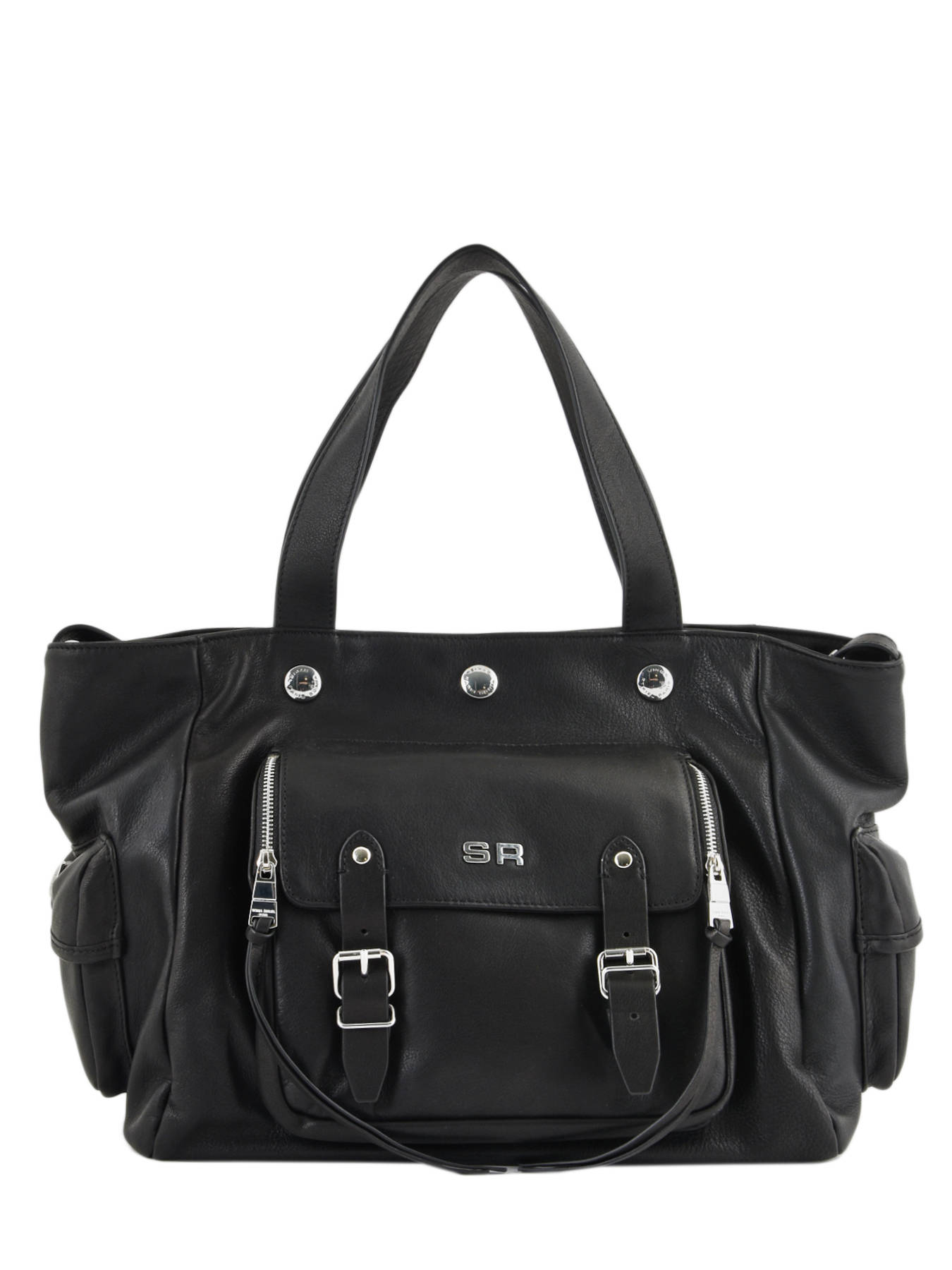 2938953d99 ... Tote Luxembourg Leather Sonia rykiel Black luxembourg 2296-44 ...