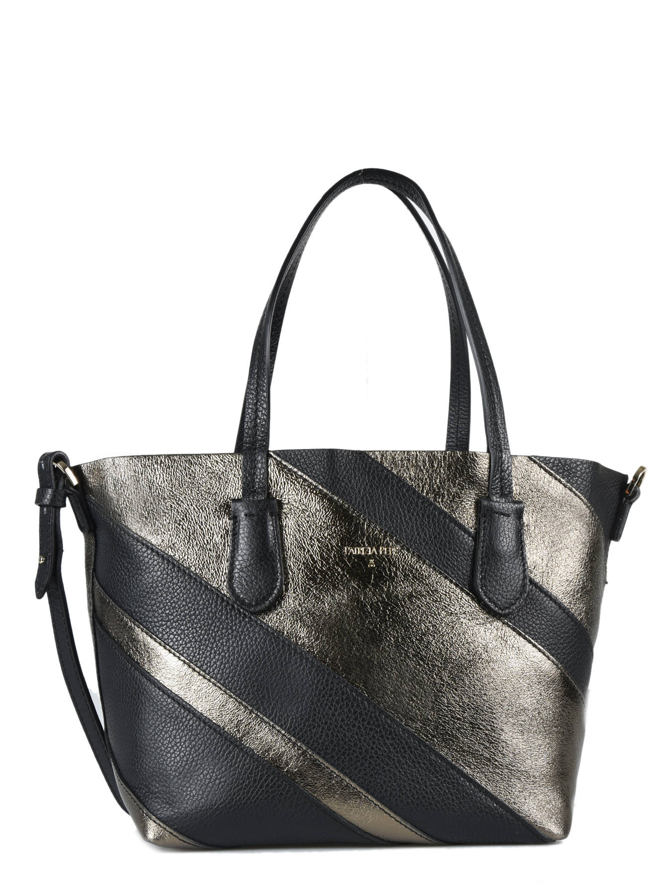 attractive price dirt cheap cheap for discount Sac Cabas Double Fantasy cuir PATRIZIA PEPE