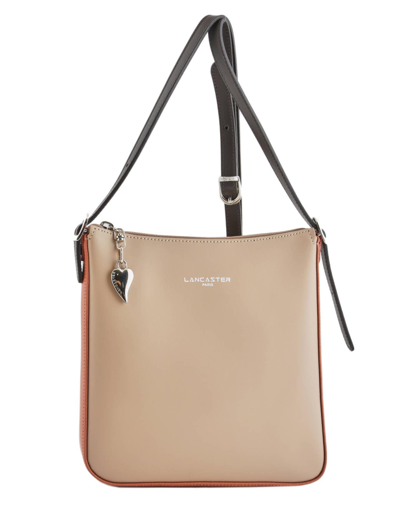 Shoulder Bag Constance Leather Lancaster Black 437 09