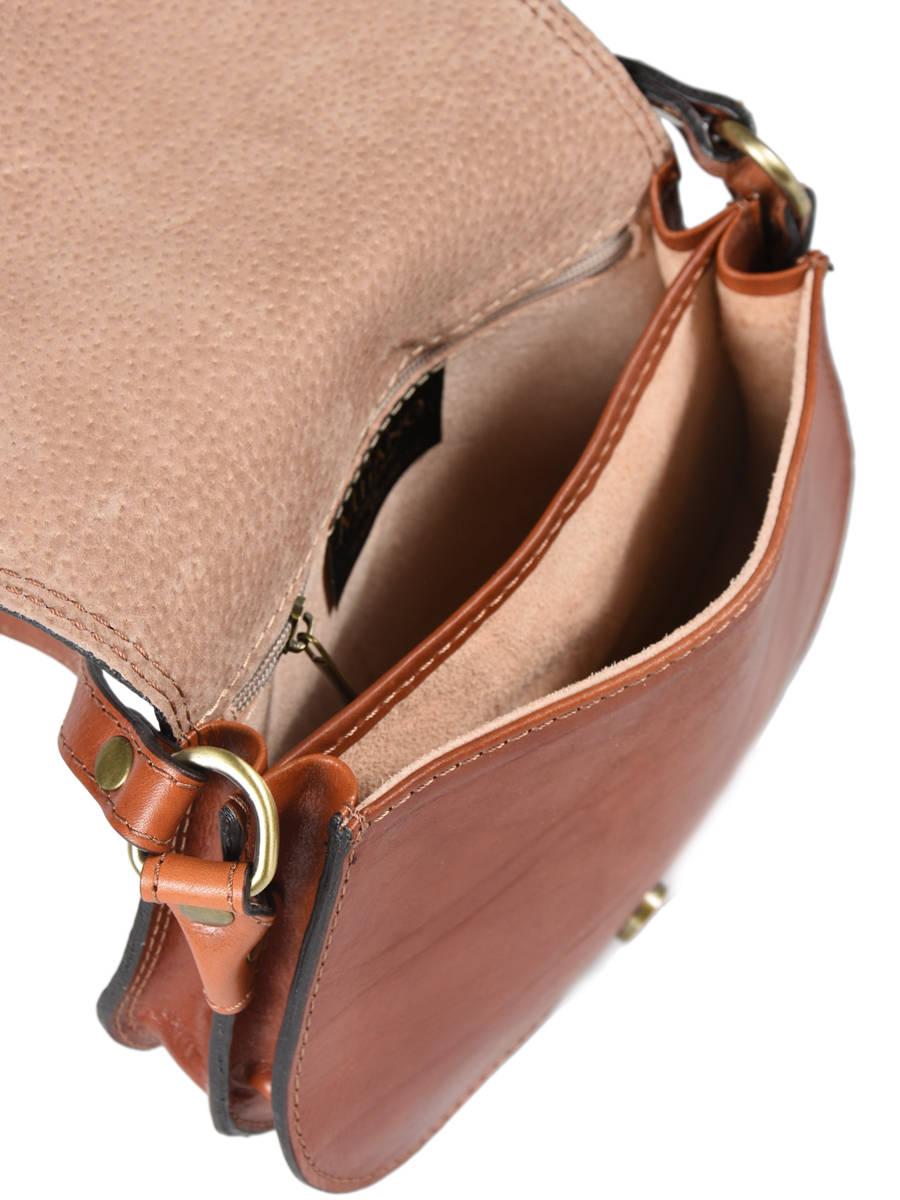Tempo Small Saddle Bag Milano Brown tempo TE18062 other view 3 ... 0334f51b30583