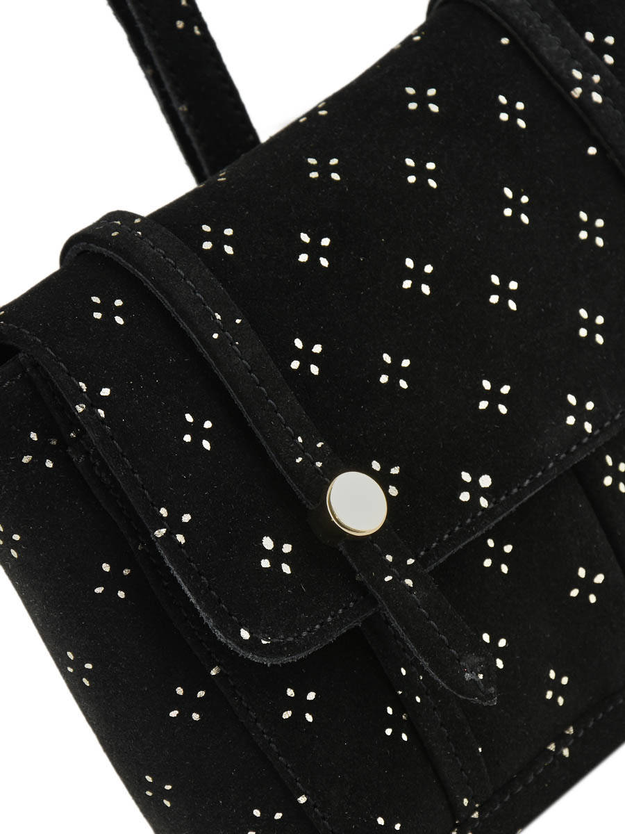 4452d981016d ... Crossbody Bag Isha Petite mendigote Black mes petits sacs ISHA other  view 1 ...