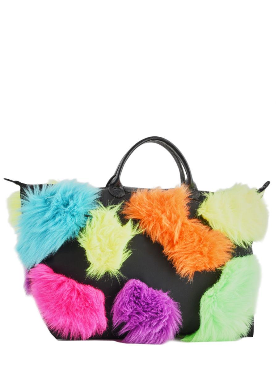 b4e6c947cb3 ... Longchamp Jeremy scott Travel bag Black ...