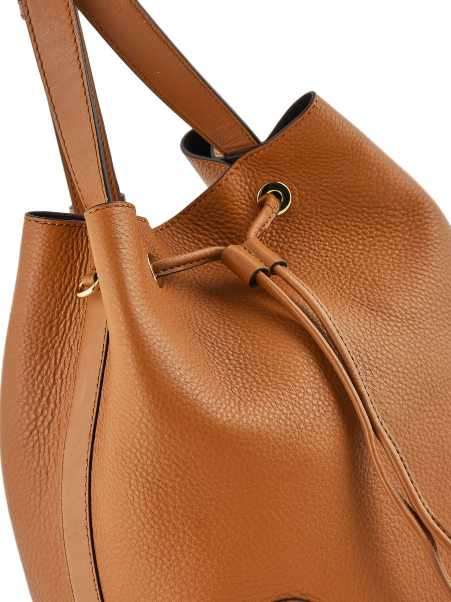 ... Medium Leather Bucket Bag Cary Michael kors Brown cary F8G0CM2T other  view 1 ... 9300572f64eee