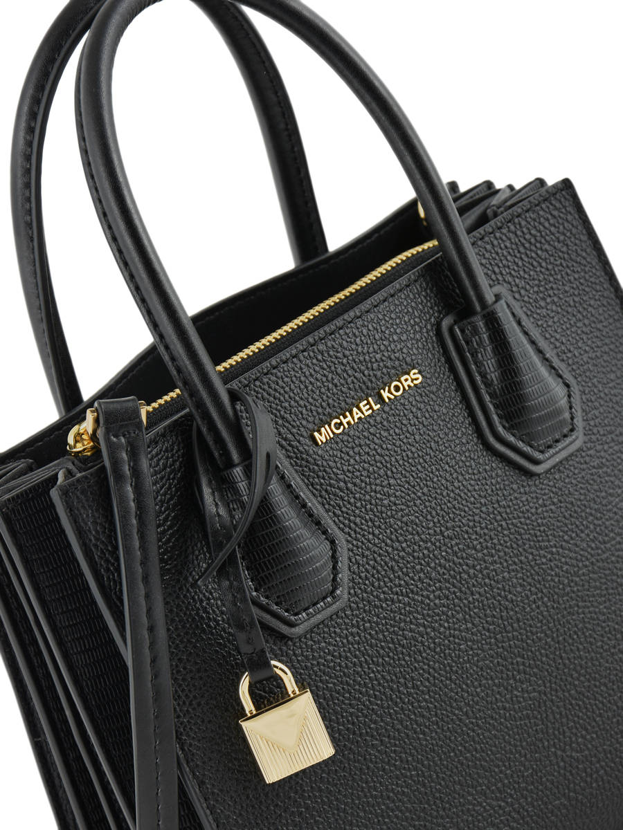 eaddc8a29b2c ... Crossbody Bag Mini Mercer Leather Michael kors Black mercer F8GM9M6I  other view 1 ...