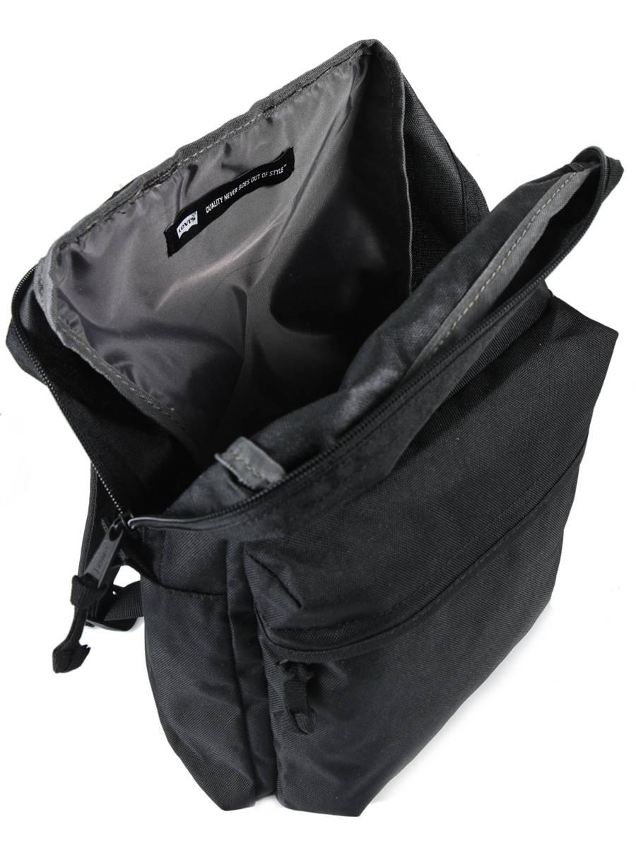 4d7c8391a Backpack 1 Compartment + 13'' Pc Levi's Black l1 228840 ...
