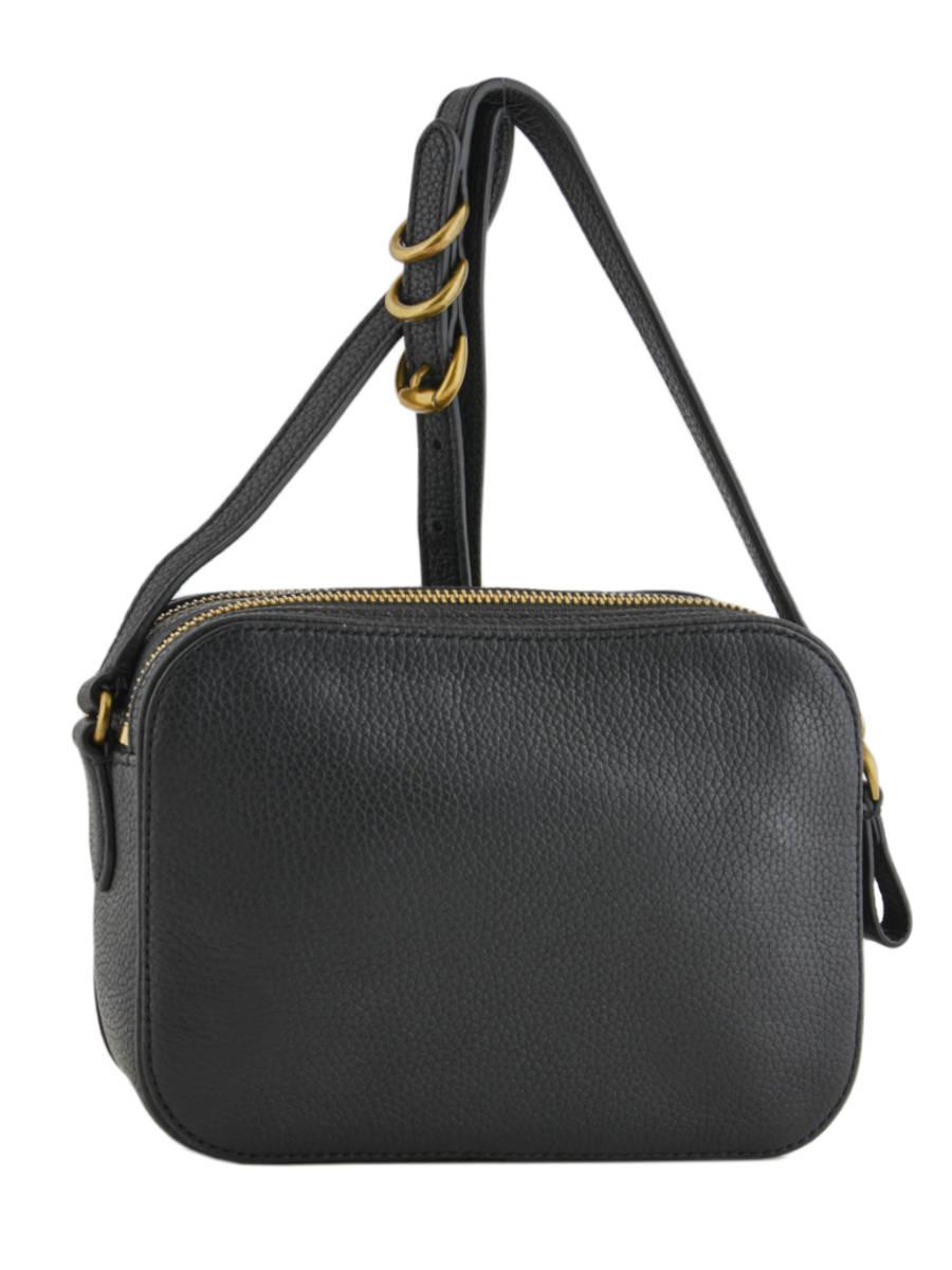 62add2aa679d ... Shoulder Bag Huntley Leather Lauren ralph lauren Black huntley 31704451  other view 3 ...