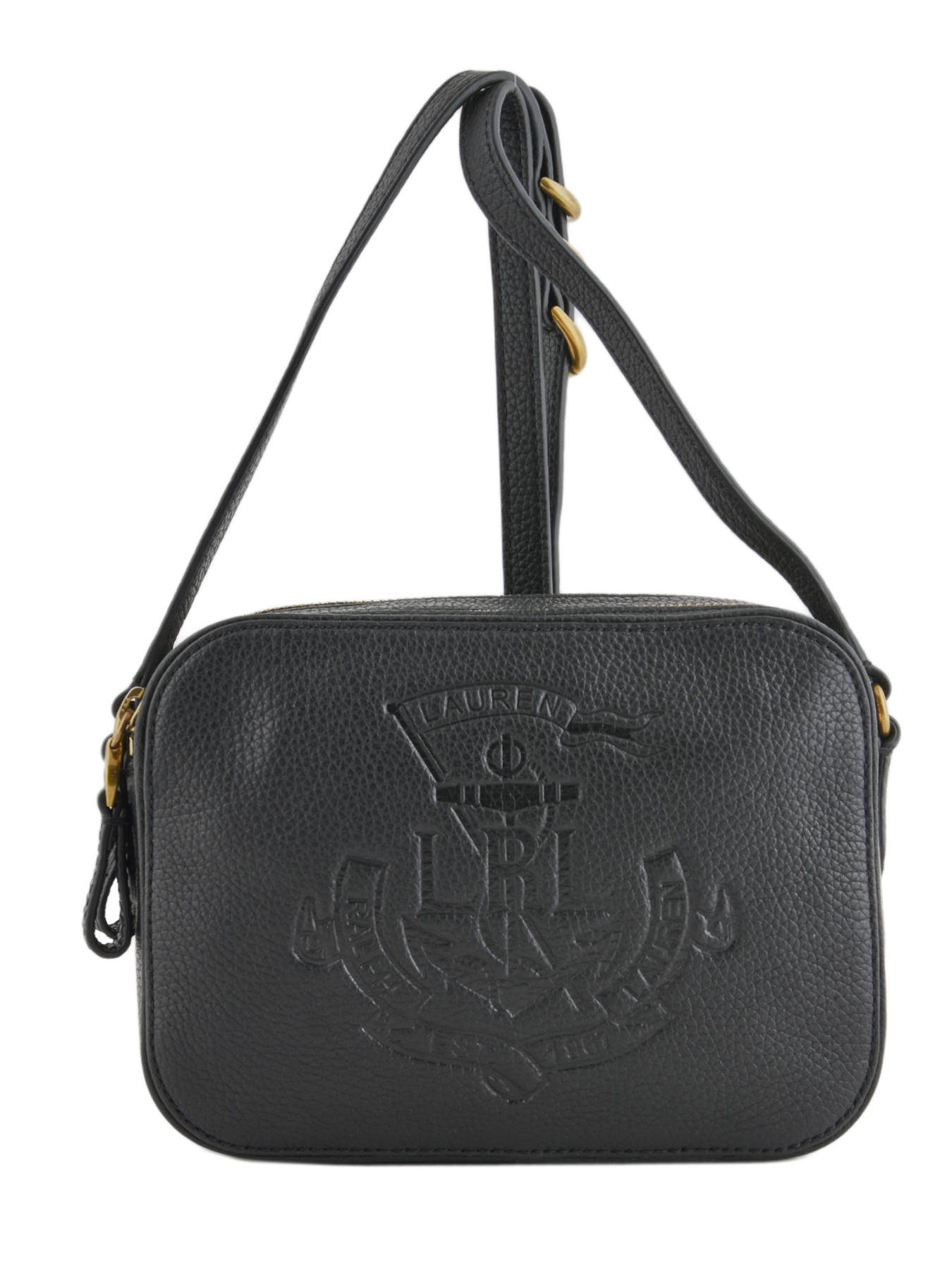 e994ed6511 ... Shoulder Bag Huntley Leather Lauren ralph lauren Black huntley 31704451  ...