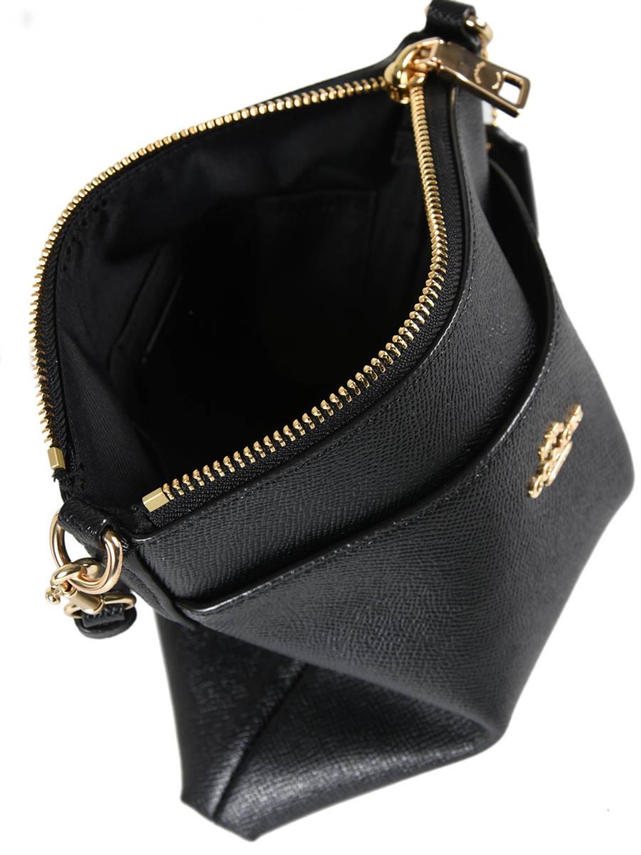 acc489c6658c03 Shoulder Bag Pop Up Leather Coach Black pop up 41320 other view 4 ...