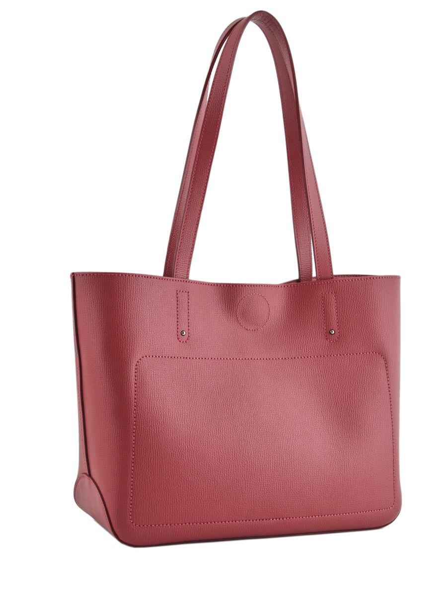 edbbb7caeb1 ... Longchamp Shop-it silhouette Hobo bag Red ...
