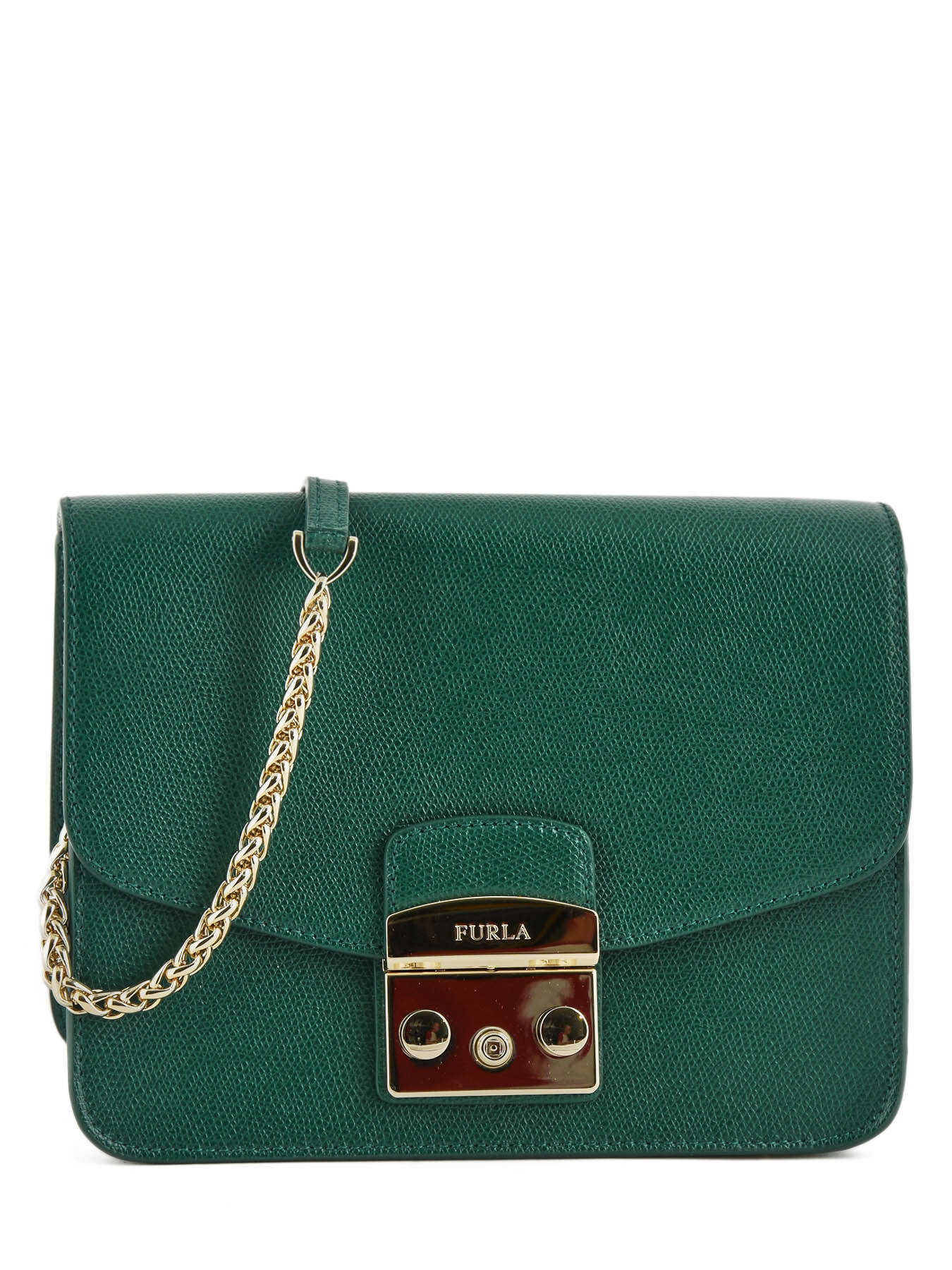 ... Shoulder Bag Metropolis Leather Furla Green metropolis EPO-BNF8 ...