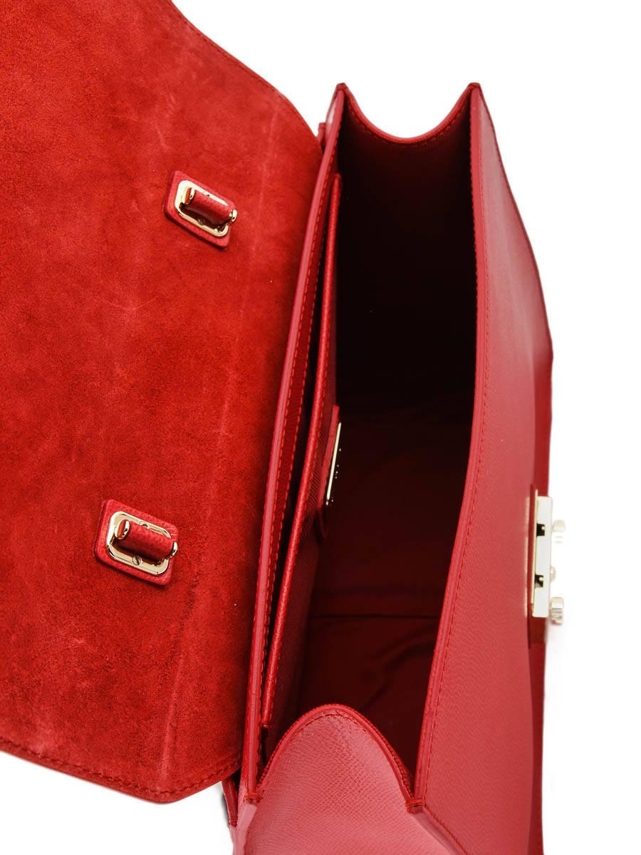 cc8e4429df20 Top Handle Metropolis Leather Furla Red metropolis EPO-BOO9 other view 4 ...