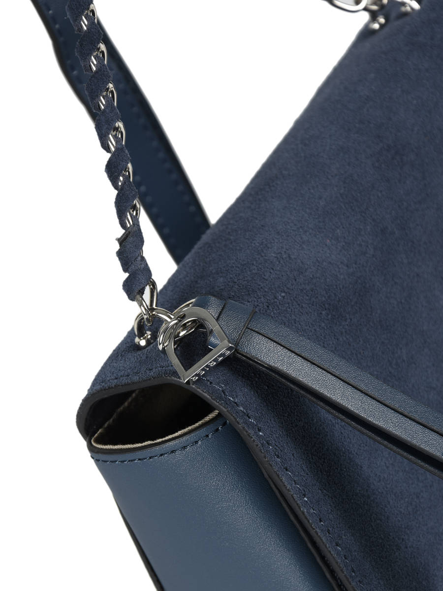 7d4cb3e1dd2d ... Shoulder Bag Caleche Leather Etrier Blue caleche ECAL012B other view 1  ...