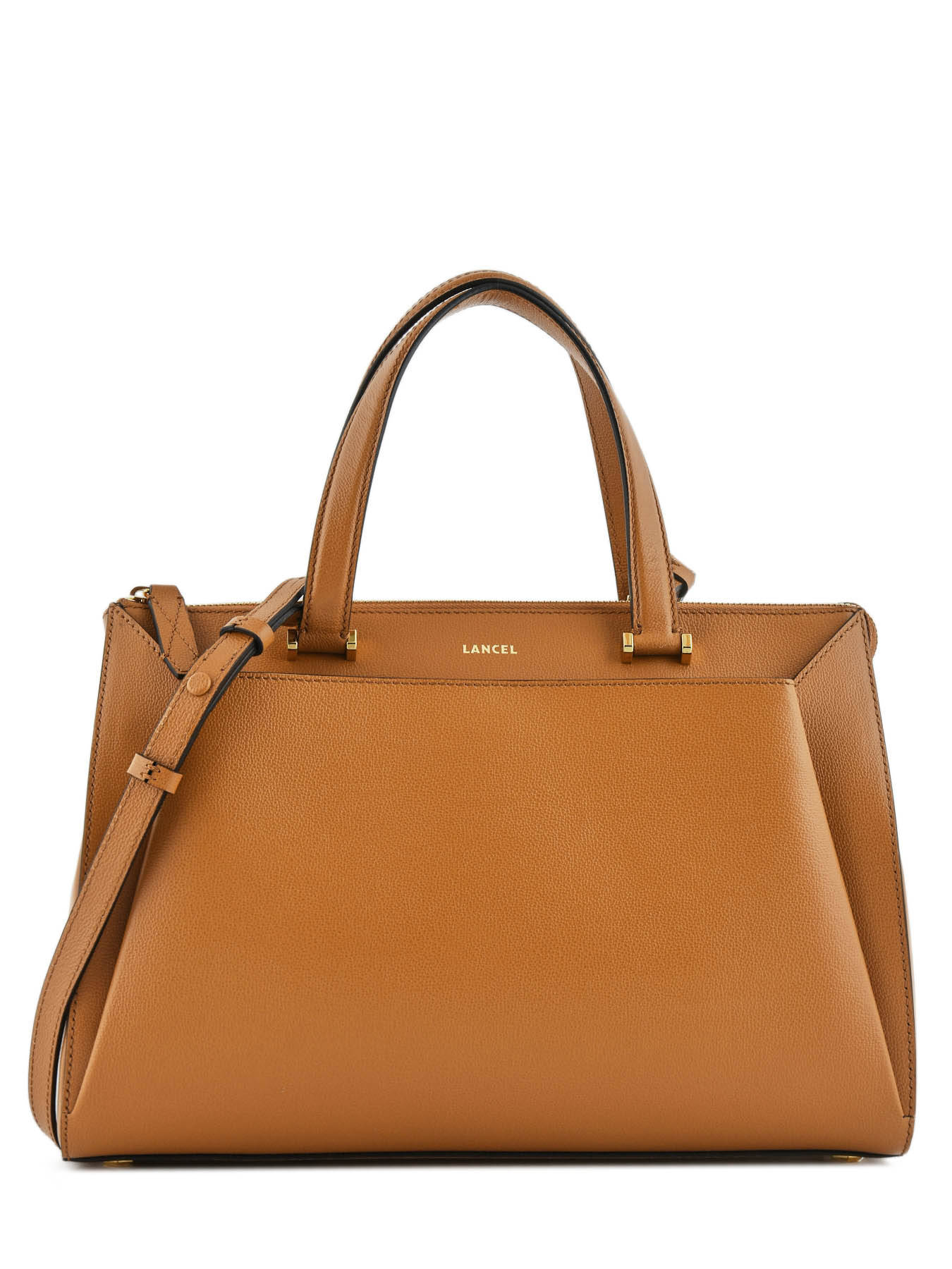 6038a73162 Tote Bag Lison Leather Lancel Brown lison A07893 ...