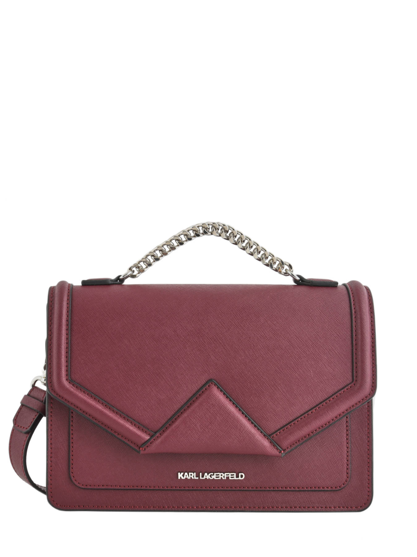 e19e4fe492 ... Shoulder Bag Klassik Leather Karl lagerfeld Red klassik 86KW3002 ...