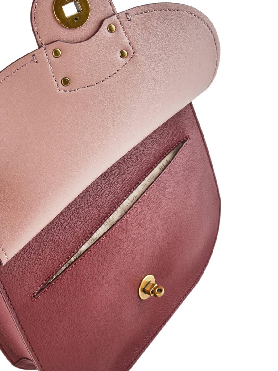 Shoulder Bag Millbrook Leather Lauren ralph lauren Red millbrook 31687503  other view 6 ... e750637a9f5f2