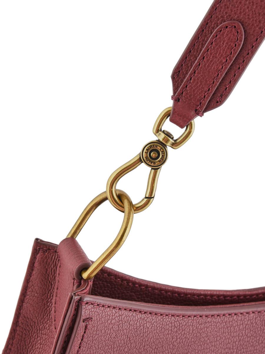 ... Shoulder Bag Millbrook Leather Lauren ralph lauren Red millbrook  31687503 other view 2 ... 0c506246da550