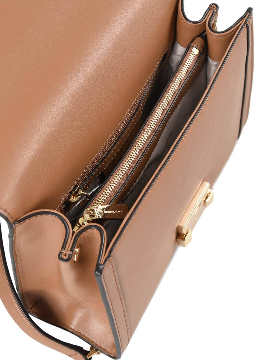 6ce1612b3ec Crossbody Bag Whitney Leather Michael kors Brown m group T8GXIL3L other view  ...