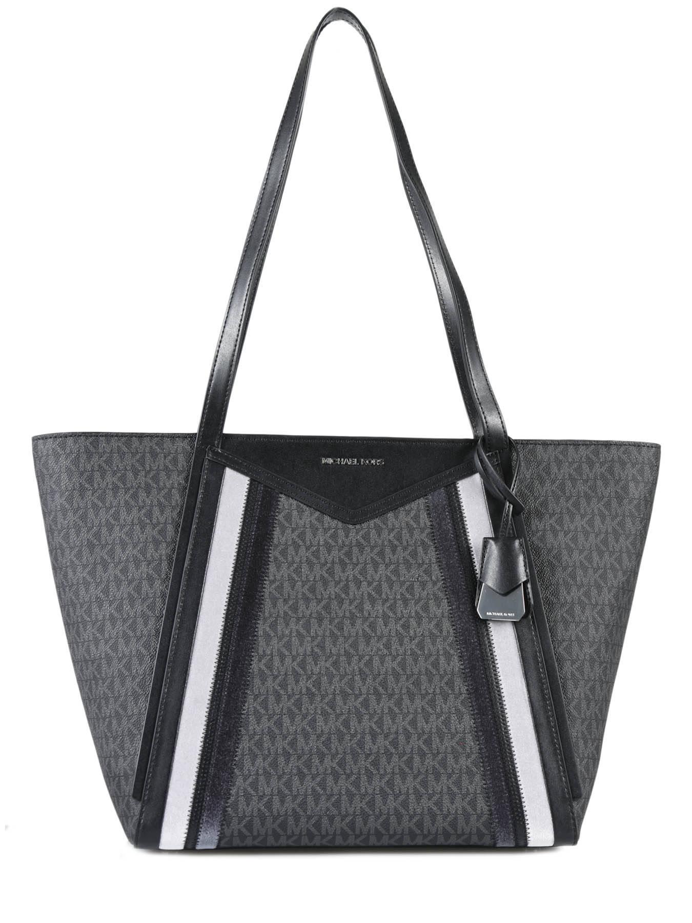 dae98a9f12 ... Shoulder Bag Withney Leather Michael kors Black withney F8SN1T7B ...