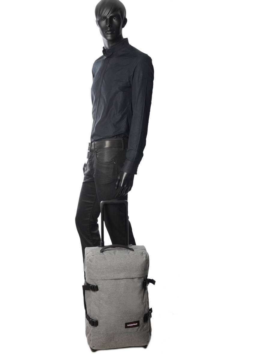 dff9a8236c1 ... Cabin Luggage Backpack Eastpak Gray authentic luggage K96L other view 2  ...