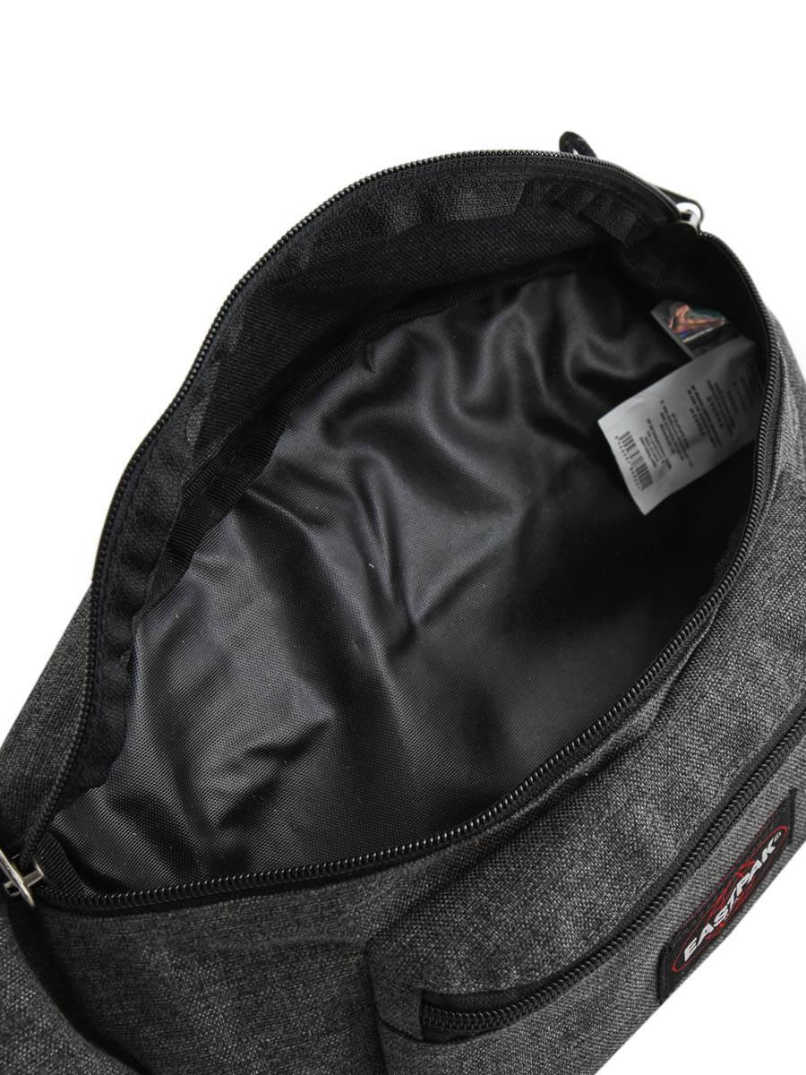 femme eastpak doggy bag2 black denim en vente au meilleur prix. Black Bedroom Furniture Sets. Home Design Ideas